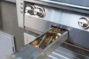 Alfresco ALXE 36-Inch Built-In Natural Gas Grill With Sear Zone And Rotisserie - ALXE-36SZ-NG