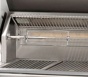 Alfresco ALXE 56-Inch Built-In Natural Gas All Grill With Sear Zone And Rotisserie - ALXE-56BFG-NG