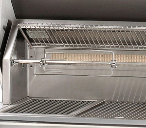 Alfresco ALXE 36-Inch Natural Gas Grill With Sear Zone And Rotisserie - ALXE-36SZC-NG