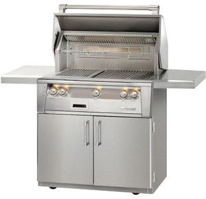 Alfresco ALXE 36-Inch Propane Gas Grill With Sear Zone And Rotisserie - ALXE-36SZC-LP