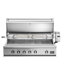 DCS Series 7 Traditional 48-Inch Built-In Propane Gas Grill With Rotisserie - BH1-48R-L