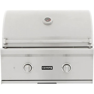 Coyote C-Series 28-Inch 2-Burner Built-In Propane Gas Grill - C1C28LP