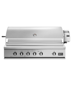 DCS Series 7 Traditional 48-Inch Propane Gas Grill With Rotisserie On DCS CAD Cart - BH1-48R-L