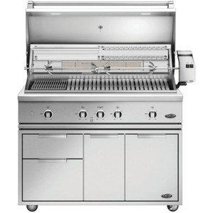 DCS Series 9 Evolution 48-Inch Propane Gas Grill W/ Rotisserie, Cart, & Grill Cover - BE1-48RC-L