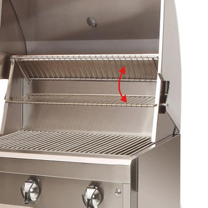 Artisan Professional 32-Inch 3-Burner Freestanding Natural Gas Grill With Rotisserie - ARTP-32C-NG