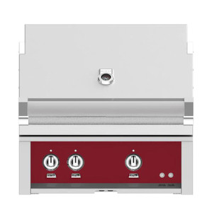 Hestan 30-Inch Built-In Natural Gas Grill W/ Rotisserie - Tin Roof - GABR30-NG-BG