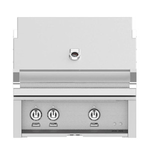 Hestan 30-Inch Built-In Natural Gas Grill W/ All Infrared Burners & Rotisserie - Steeletto - GSBR30-NG-SS