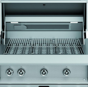 Aspire By Hestan 42-Inch Built-In Natural Gas Grill - Stealth - EAB42-NG-BK