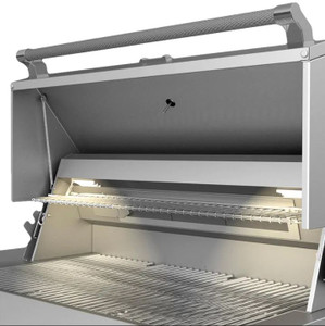 Aspire By Hestan 30-Inch Built-In Natural Gas Grill - Prince - EAB30-NG-BU