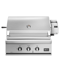 DCS Series 7 Traditional 30-Inch Built-In Propane Grill With Rotisserie - BH1-30R-L