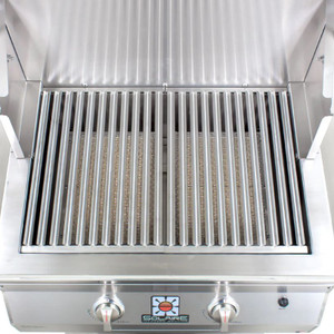 Solaire 36 Inch Built-In All Infrared Propane Gas Grill With Rotisserie - SOL-AGBQ-36IR-LP
