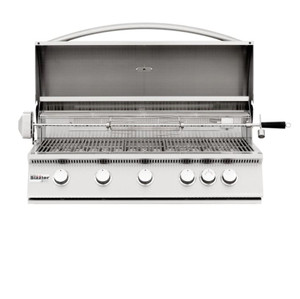 Summerset Sizzler 40-Inch 5-Burner Built-In Propane Gas Grill With Rear Infrared Burner - SIZ40-LP