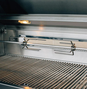 Summerset Alturi 42-Inch 3-Burner Natural Gas Grill With Stainless Steel Burners & Rotisserie - ALT42T-NG