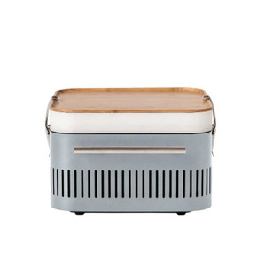 Everdure By Heston Blumenthal CUBE 17-Inch Portable Charcoal Grill - Stone - HBCUBESUS