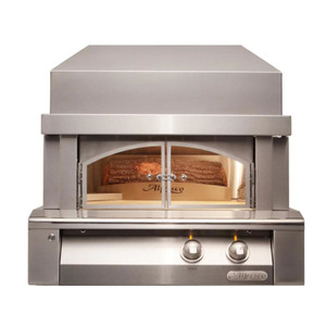 Alfresco 30-Inch Natural Gas Outdoor Pizza Oven Plus - AXE-PZA-NG