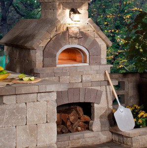 Chicago Brick Oven CBO-1000 Built-In Wood Fired Commercial Outdoor Pizza Oven DIY Kit - CBO-O-KIT-1000