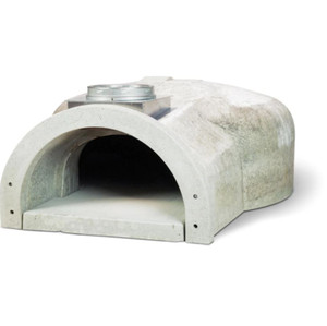 Chicago Brick Oven CBO-750 Built-In Hybrid Residential Outdoor Pizza Oven Kit - Natural Gas - CBO-O-KIT-750-HYB-NG-R-3K