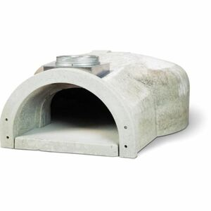 Chicago Brick Oven CBO-750 Hybrid Residential Outdoor Pizza Oven On Stand - Propane - Silver - CBO-O-STD-750-HYB-LP-SV-R-3K