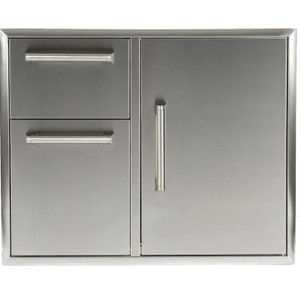 Coyote 31-Inch Access Door & Double Drawer Combo - CCD-2DC31