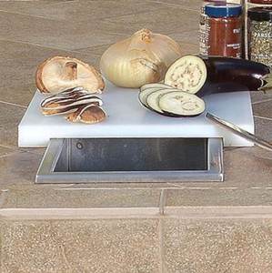 Artisan Prep And Waste Chute With Cutting Board Cover - ARTP-PWC