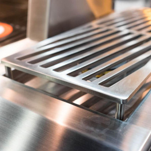 Hestan Built-In/Cart Mounted Propane Gas Double Side Burner - Steeletto - AGB122-LP-SS