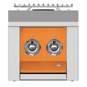 Aspire By Hestan Built-In Propane Gas Double Side Burner - Citra - AEB122-LP-OR