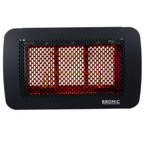 Bromic Heating Tungsten 300 Smart-Heat 20-Inch 26,000 BTU Propane Gas Patio Heater - BH0210002