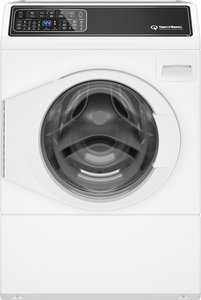 Speed Queen FF7005WN 27 Inch Front Load Washer with Dynamic Balancing System, Stainless Steel Tub, Detergent Dispenser, 9 Preset Cycles, 4 Spin Speeds, 4 Temperature Selections, 4 Soil Level Selections, Sanitize with Oxi Cycle, Delayed Start,