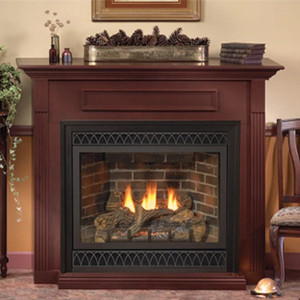 Empire Tahoe Deluxe 32 Direct Vent Gas Fireplace | DVD32FP
