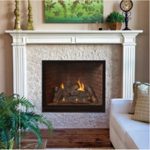 Empire Tahoe Luxury 36 Clean Face Direct Vent Gas Fireplace | DVCX36FP