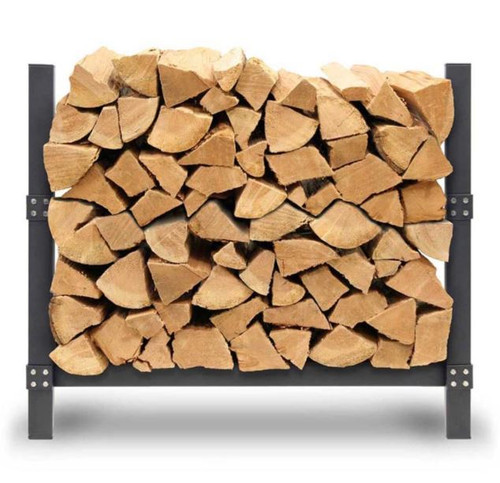 Pro 36″ Outdoor Firewood Rack with Cover