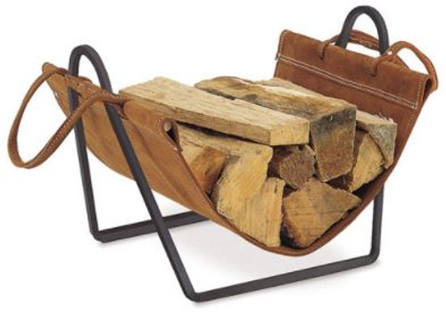 Traditions Wood Holder With Suede Carrier