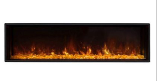 Modern Flames Landscape FullView 120-In Built-In Electric Fireplace - LFV2-120/15-SH
