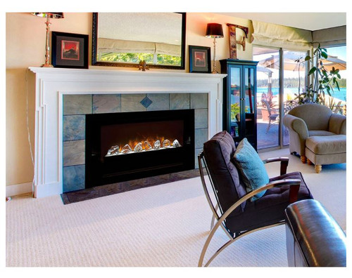 Modern Flames 60-In Home Fire Built-In Electric Fireplace