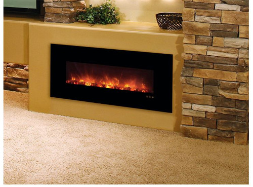 Modern Flames 40-In Fantastic Flame Built-In Electric Fireplace - FF43/BILV