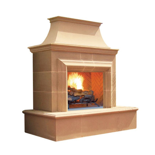 Reduced Cordova Fireplace - Vented
