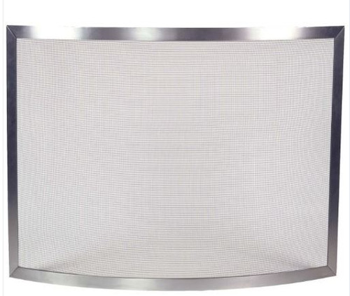 Dagan DG-S503 Pewter Fireplace Screen, 40x30.5-Inches