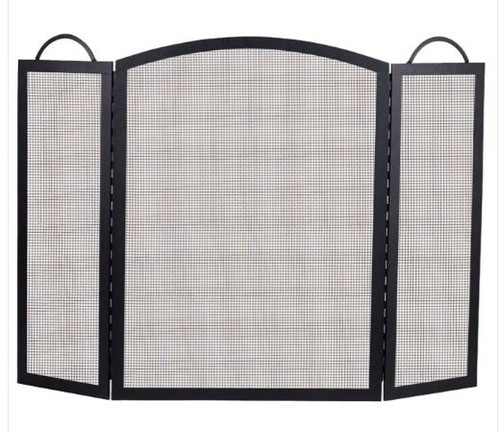Dagan DG-S130-39 Three Fold Arched Fireplace Screen, 52x39-Inches