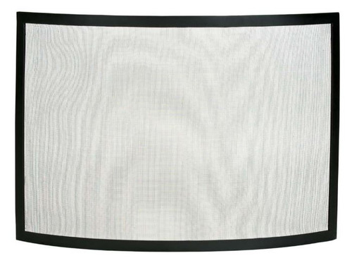 Dagan DG-S503BLK Black Fireplace Screen, 40x30.5-Inches