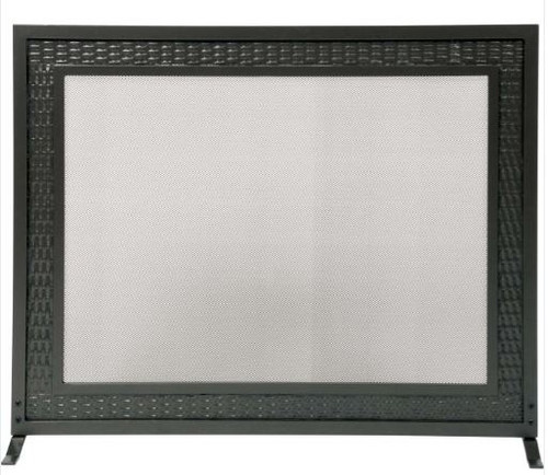Dagan DG-S100 Fireplace Screen with Weave Design, 39x31-Inches