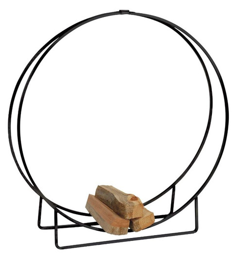 Dagan DG-LH40 Black Log Hoop, 12-Inches