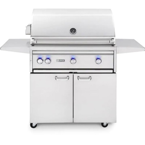 Lynx Professional 36-Inch Natural Gas Grill With One Infrared Trident Burner And Rotisserie - L36TRF-NG