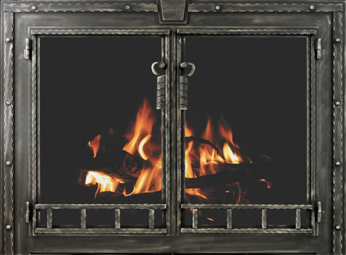 Blacksmith - Rectangle Shown in metallic latte Masonry