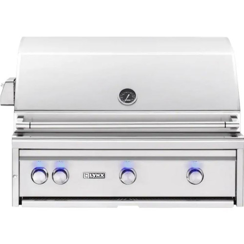 Lynx L36ATR-NG Professional 36-Inch Built-In All Infrared Trident Natural Gas Grill with Rotisserie