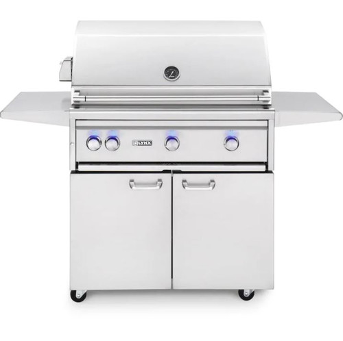 Lynx Professional 36-Inch All Infrared Trident Natural Gas Grill With Rotisserie - L36ATRF-NG