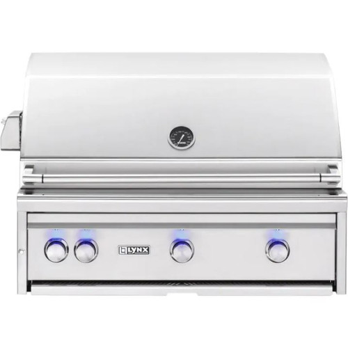 Lynx Professional 36-Inch Built-In Propane Gas Grill With One Infrared Trident Burner And Rotisserie - L36TR-LP