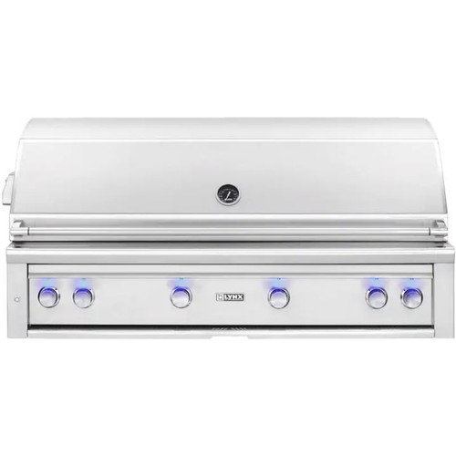 Lynx Professional 54-Inch Built-In Propane Gas Grill With One Infrared Trident Burner And Rotisserie - L54TR-LP