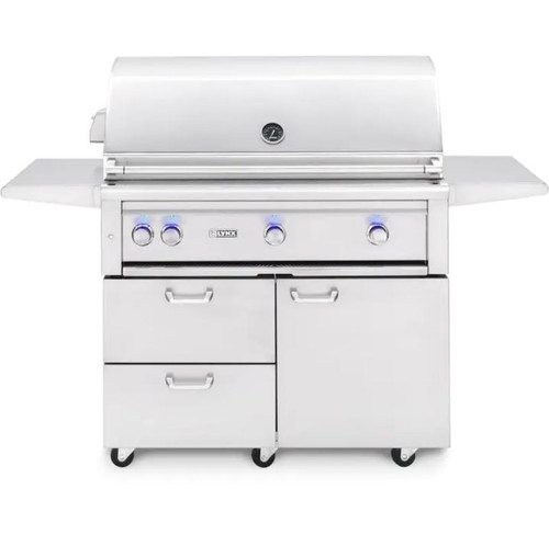 Lynx Professional Freestanding Grill with 1 Trident? and 2 Ceramic Burners and Rotisserie, LP