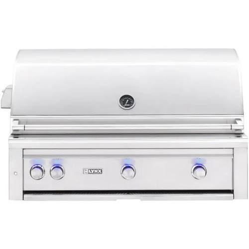 Lynx Professional 42-Inch Built-In Propane Gas Grill With One Infrared Trident Burner And Rotisserie - L42TR-LP