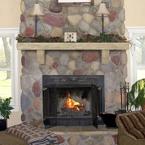 Perfection Cast Stone Shelves - Natural